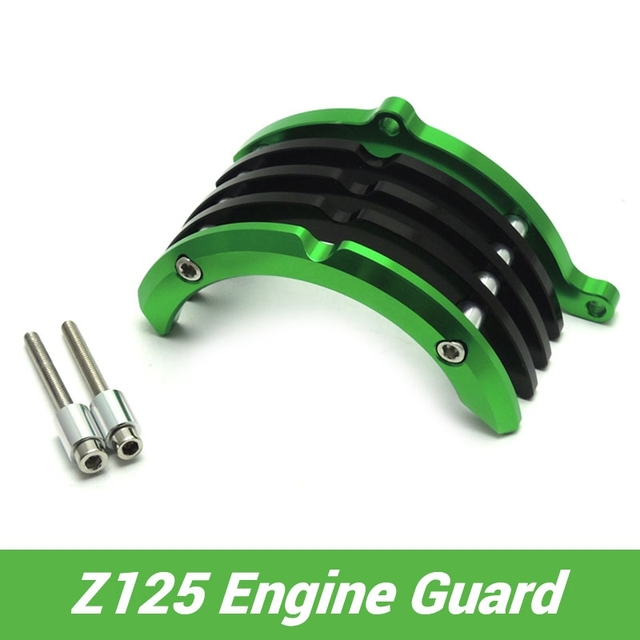 For Kawasaki Z125 Right Side Engine Guard Protector for Kawasaki Z125 Pro  Motorcycle Parts-in Covers & Ornamental Mouldings from Automobiles &