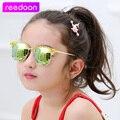 Reedoon 2017 más nuevos niños gafas de sol niños gafas de marco de plástico 3 colores gafas uv400 gafas de sol oculos infantil chicos grils