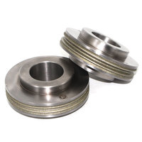 Multi groove electroplated diamond CBN abrasive grinding wheel Forturetools produced abrasive tool