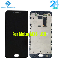 For Meizu MX6 LCD Display With Touch Screen Digitizer Assembly Replacement With Frame 5 5 Inch