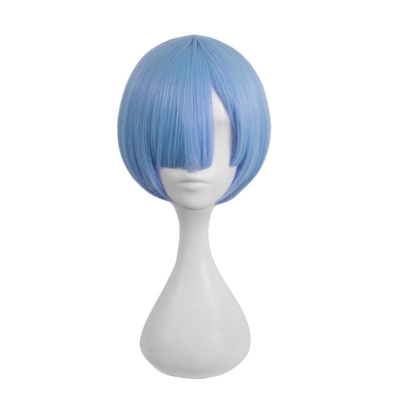 HSIU NYHET Ren färg REM cosplay peruk eller RAM cosplay peruker Re: - Maskeradkläder och utklädnad
