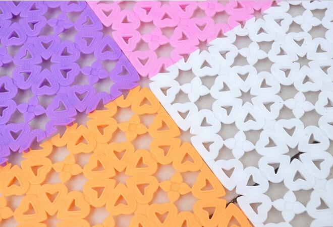 Neue kunststoff gummi rutschfeste dusche bad massage matte mosaik - Haushaltswaren - Foto 4