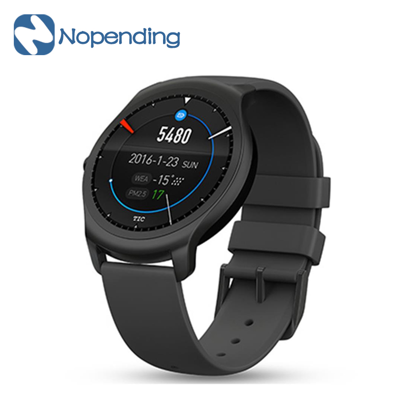 NEW Original Ticwatch 2 Sport Smart Watch Smartwatch Bluetooth WiFi 1.2GHz 512MB/4GB GPS Intuitive Heart Rate for Xiaomi IOS MI5 детская игрушка new wifi ios