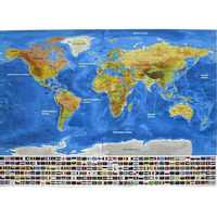 82,5x59,4 см Deluxe Erase World Map Travel Scratch Off Map Золотая фольга Travel Map Best Decor школьные канцелярские принадлежности