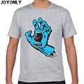Joy Only New Skateboard Skate Santa Cruz t shirt Men Casual Fitness Skate t-shirt Mens Clothing Camisetas 3D Printed Tops TA60
