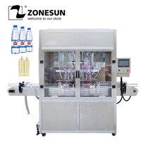 ZONESUN Автоматический Пневматический высокая скорость линия по производству напитков духи пиво питьевой воды молоко масла розлива поставщик