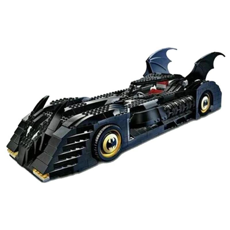 ФОТО 7116 Super Size Classic Batman Tumbler Batman Batmobile Building Blocks 1045Pcs Lepin Compatible Bricks DC Toys For Children