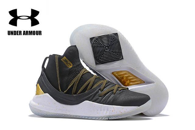 online store 461e1 77cad € 51.45 5% de réduction Athlétique sous armure nouvelles couleurs UA hommes  Stephen Curry 5 Sport basket ball baskets, entraînement masculin Unique ...