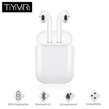 i9 Bluetooth Earphones Wireless Stereo Headphones True Wireless Earbuds Noise Canceling Microphone for Iphone Android Air Pods