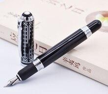 דוכס 669 עט נובע, יפה שחור פרחים Medium ציפורן 0.7mm עט כתיבה עסקים, משרד, בית וגינה