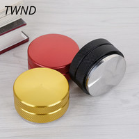 Three Angled Slope Stainless steel coffee tampers press powder 58mm hammer adjustable height