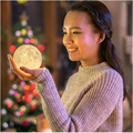 3D печати луна лампа зарядки moon night light луна личное пользовательских подарок