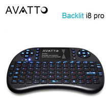 [ lOWEST PRICE ] Russian i8 Pro Backlit 2.4G Wireless Mini Keyboard TouchPad Gaming Air Mouse for Smart TV/Android Box/PC/Laptop