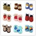 Al por menor sólidos estampados de animales bebé botas / niño y calzado / calzado del bebé / primeros caminante