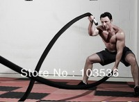 5cm x 15M Professional Physical training rope battle training rope grappling rope