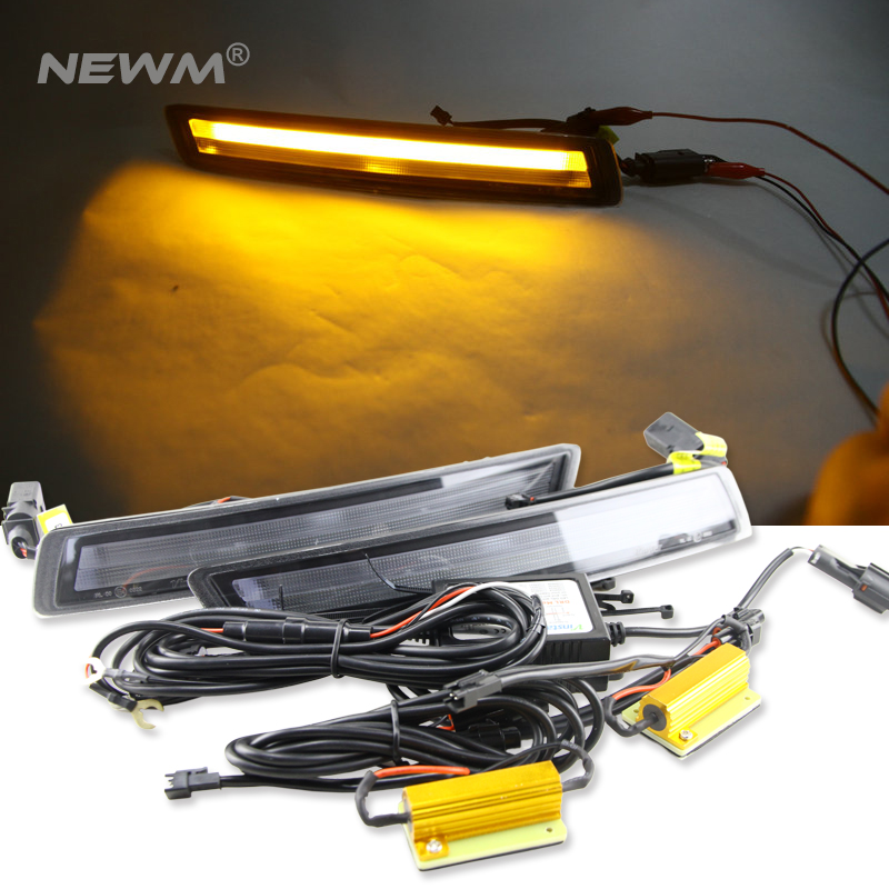 Free Shipping 12V 6000k LED DRL Daytime Running Light For VW Beetle 2007 2010 Fog Lamp