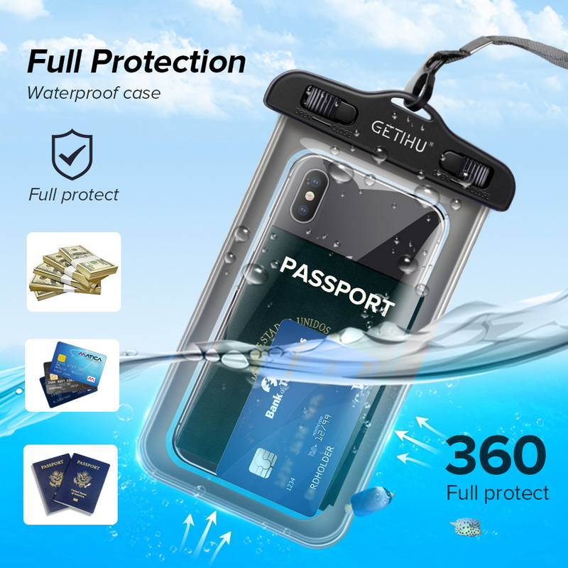 Universal Cover Waterproof Phone Case For iPhone  3