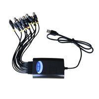 Free shipping! cctv security dvr sytem 8ch usb audio/video capture card HD D1 p2p