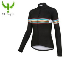 2017 Women Long Sleeve Cycling Jerseys Mtb Cycling Clothing Bicycle Maillot Ciclismo Sportwear Bike Clothes