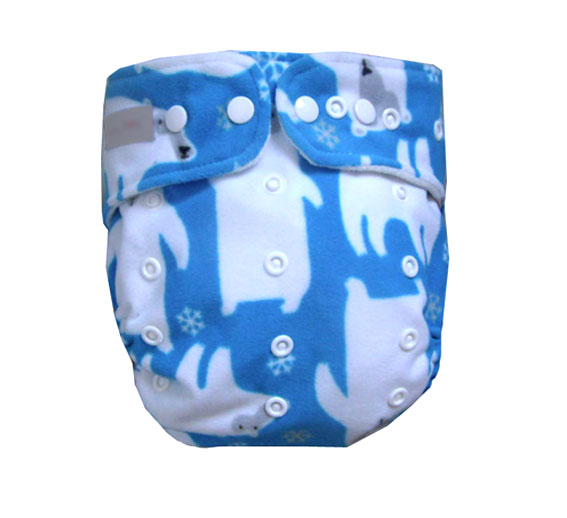 Washable Waterproof Older Children 2 Years Up Adjustable Xl Cloth Diaper With Insert 10-23kg