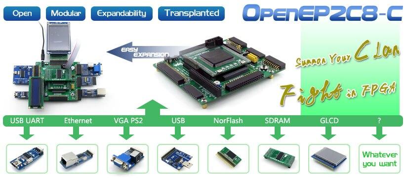 EP2C8 development board