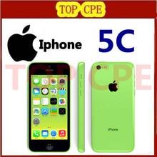 Original iPhone 5C 16GB 32gb 8gb unlocked 3G dual core WCDMA+WiFi+GPS, 8mPix Camera,4.0″ capacitive screen,Free shipping