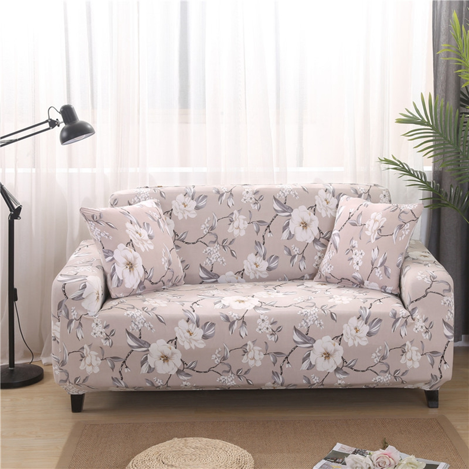 Slipcover Furniture Living Room: Aliexpress.com : Buy Pastoral Style Flowers Universal