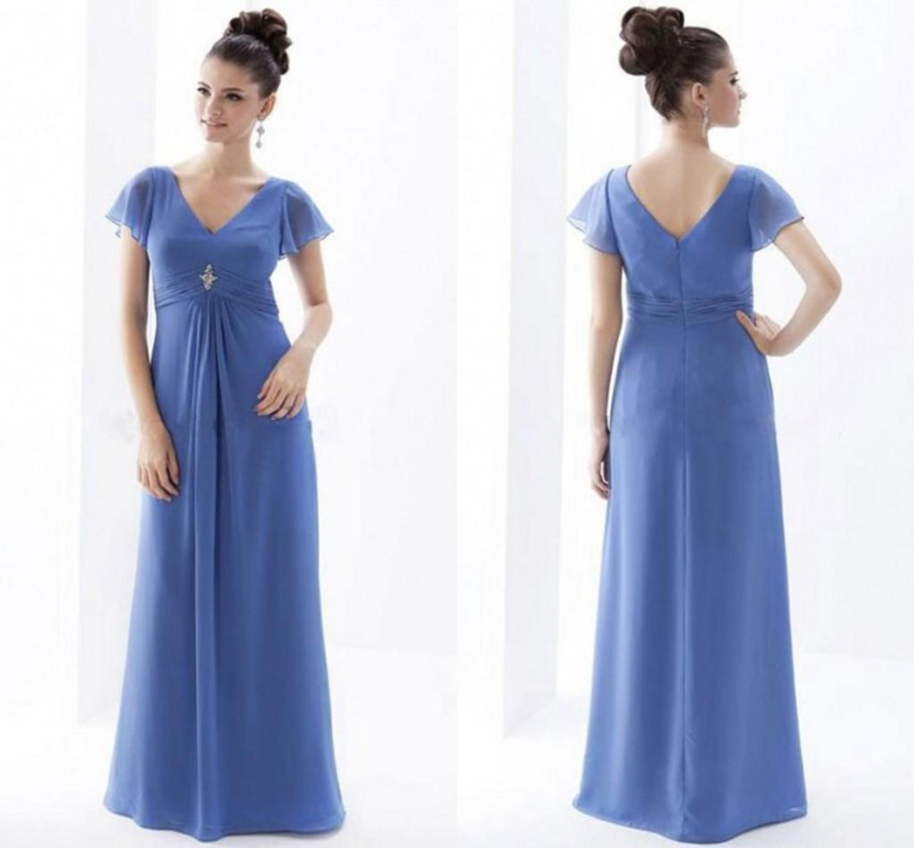 f802f7433c Cheap Chiffon Simple Mother Of The Bride Dresses Plus Size China Ebay  Chinese Party Dress With Short Sleeves Royal Blue Vestidos
