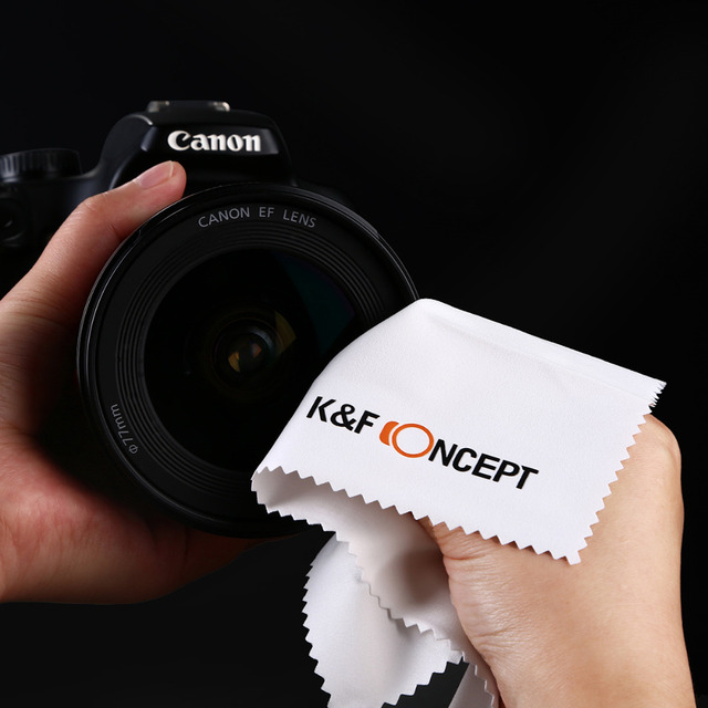 K&F Concept 58MM 0.35X Ultra Clear Blue Film Coated Fish Eye Lens + Microfiber Cloth for Canon Nikon DSLR Cameras free shipping 6