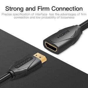 Image 3 - Tions HDMI Verlängerung Kabel 1m 1,5 m 2m 3m 5m Männlich Zu Weiblich Extender HDMI Kabel 1080P 3D 1,4 V Für HDTV LCD Laptop PS3 Projektor