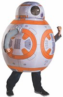 Christmas Purim Carnival Star Wars Episode The Force Awakens Deluxe BB 8 Inflatable Costumes Halloween Costume