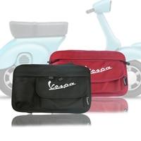Kodaskinオートバイグローブバッグ収納袋用ベスパgts lx lxvスプリントプリマベーラ50 125 250 300