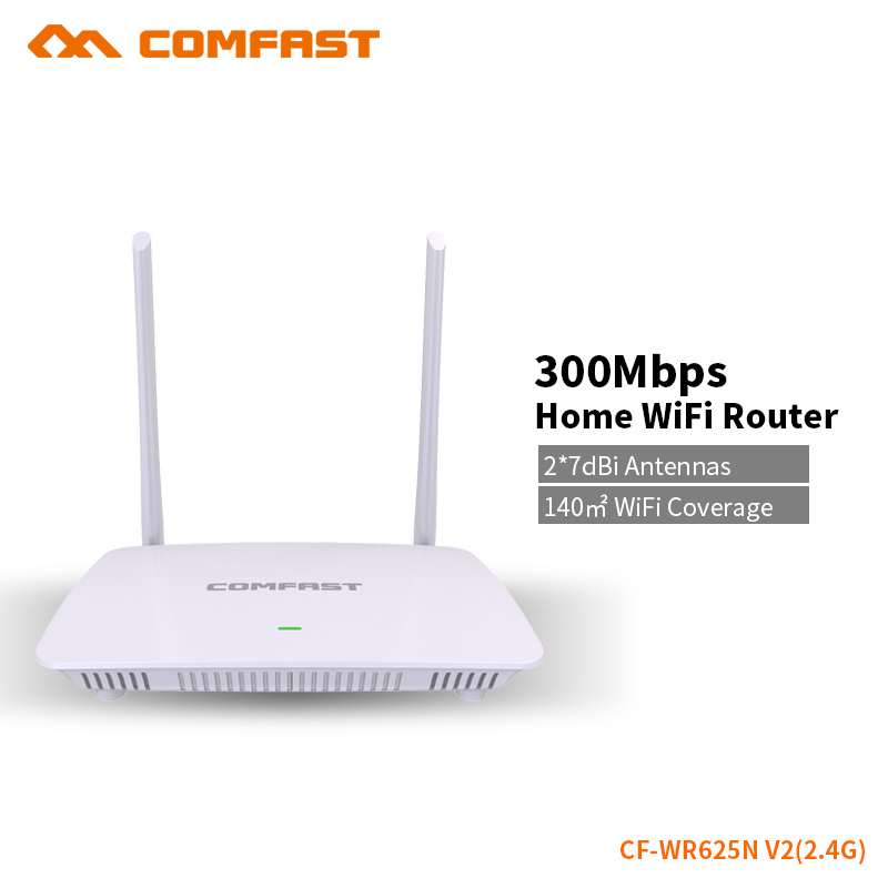 COMFAST 300Mbps WIFI Router English Firmware 300Mbps WiFi Repeater 2.4G Smart System Control WiFi Wireless Routers CFWR625N V2