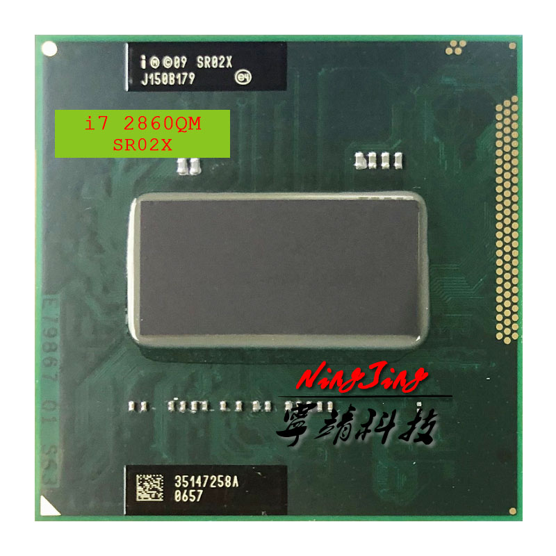 Intel Core i7 2860QM i7 2860QM SR02X 2 5 GHz Quad Core Eight Thread CPU Processor