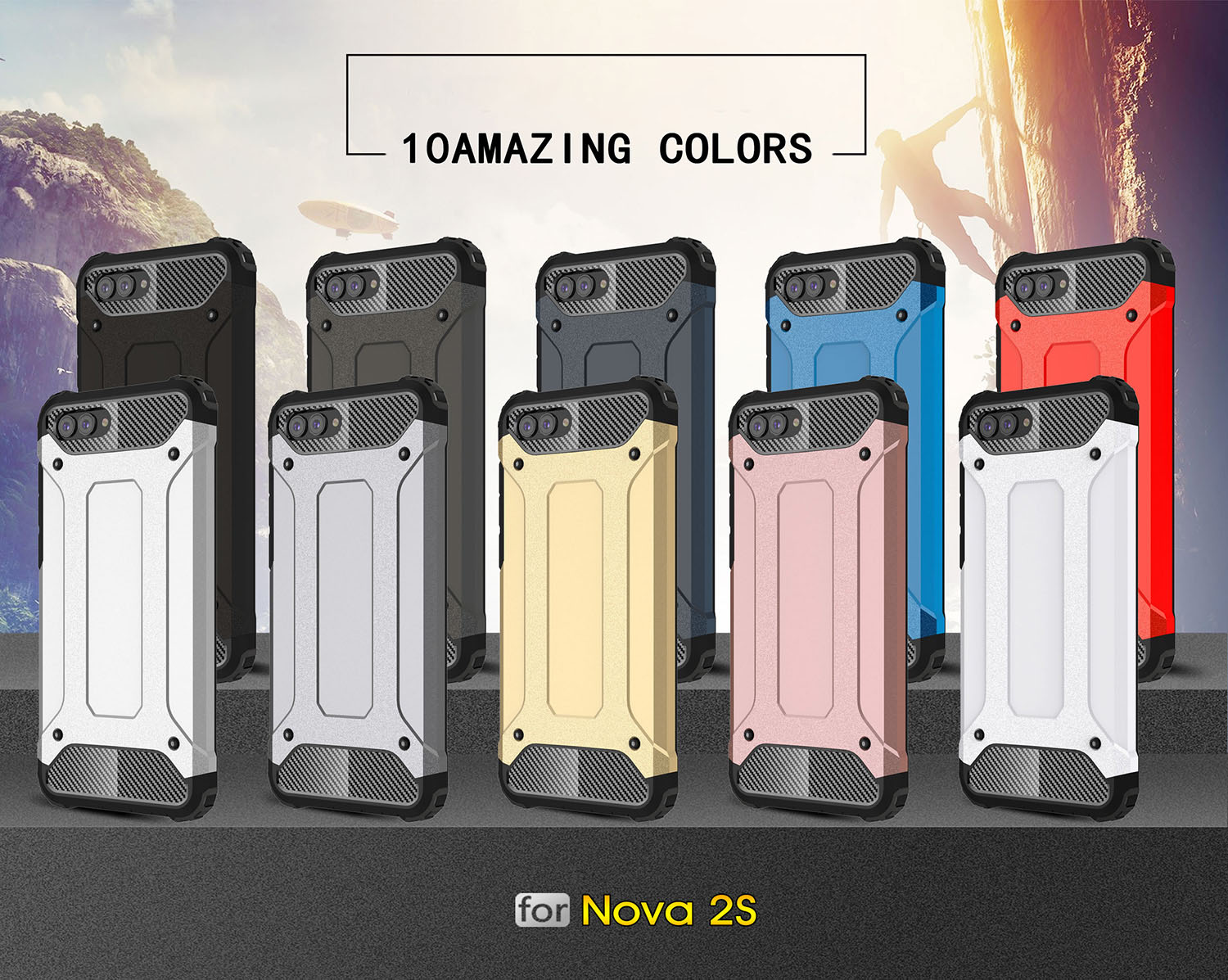 <font><b>Cases</b></font> For Huawei Huawei Nova 2s Nova2s HWI AL00 HWI TL00 <font><b>phone</b></font> Cover for Huawei <font><b>Hawaii</b></font> HWI-AL00 HWI-TL00 TPU PC <font><b>phone</b></font> housing