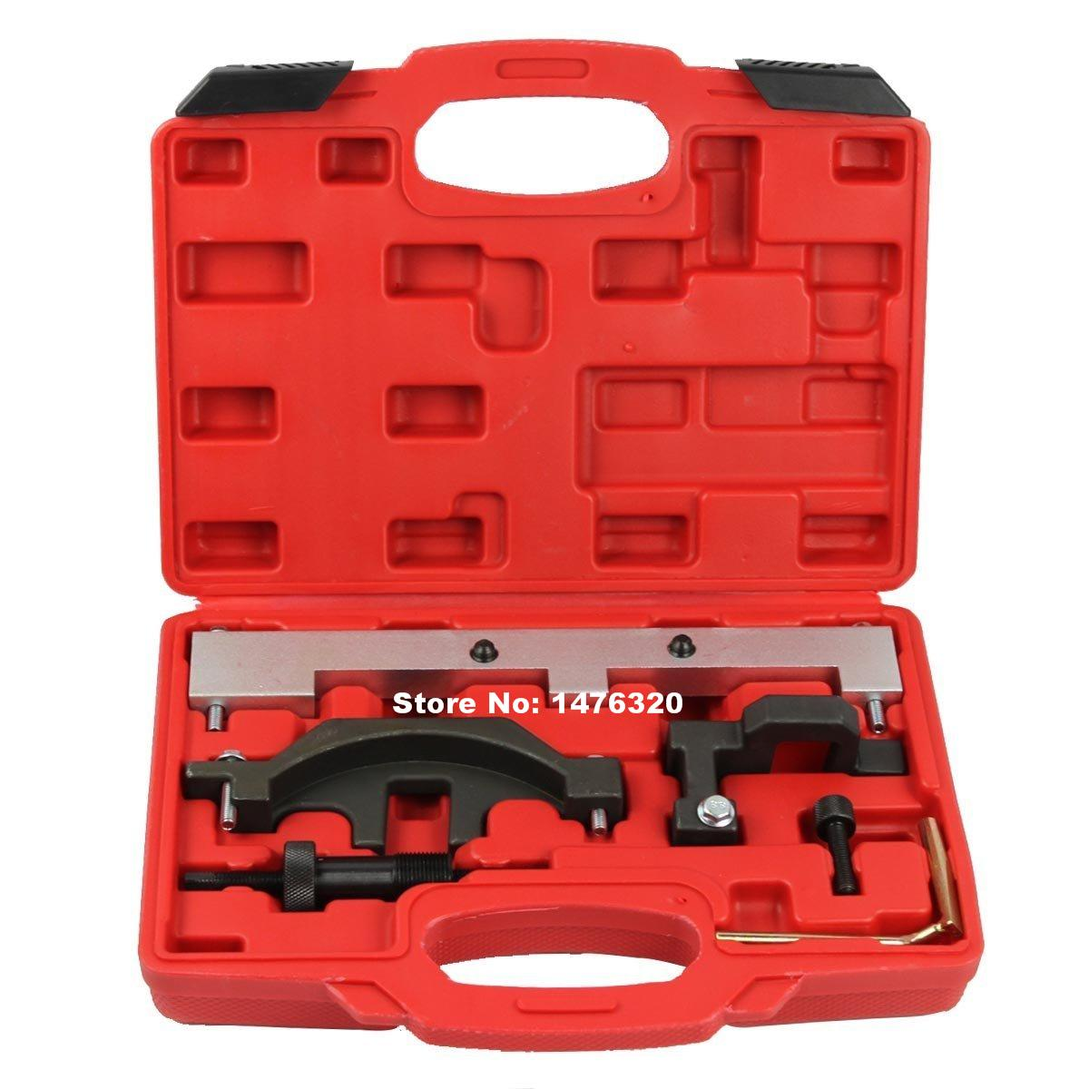 Automotive Engine Timing Camshaft Locking Setting Tool Kit For BMW N40 N45 N45T AT2027  engine camshaft locking setting timing tool kit for audi a1 a3 a4 a5 a6 tt skoda vw vag 1 6 2 0l tdi st0196