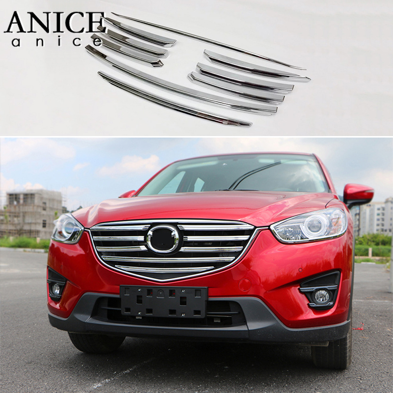 Price Of New Mazda Cx 5: FIT FOR MAZDA CX 5 CX5 2016 CHROME FRONT MESH GRILLE GRILL