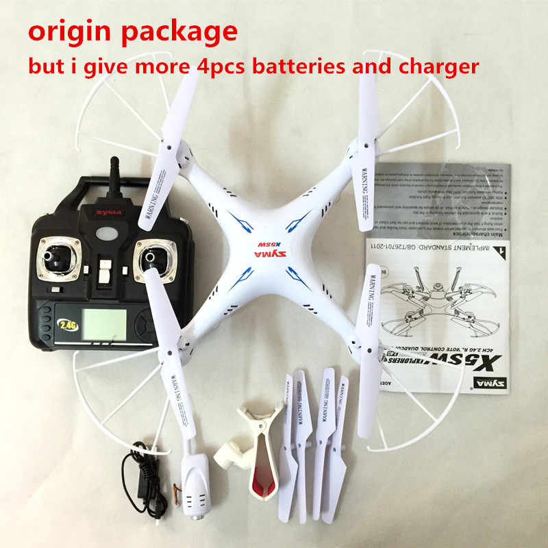 SYMA X5SW Дроны с видом от первого лица с Камера hd 6 осям FPV Quadcopter Дрон с Камера WI-FI видео в режиме реального времени вертолет квадракоптер Дрон