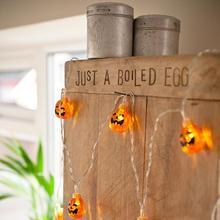 HobbyLane LED Pumpkin Lights Strings Home Room Decoration Lights Party Christmas Halloween Lights Bulb