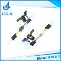 1 pc frete grátis peças de reposição para samsung galaxy j5 j500 SM-J500F Botão Home + Sensor + Headphone Jack de Áudio Cabo Flex