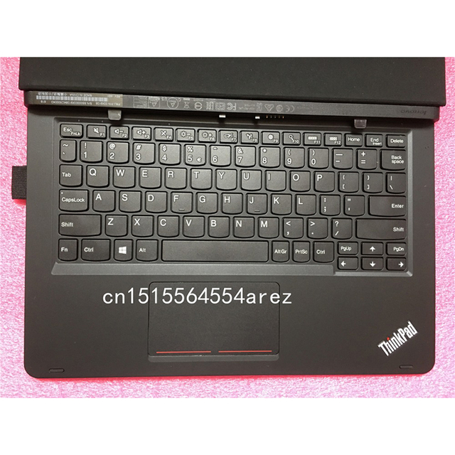 low priced e1ca0 76b1a US $51.3 5% OFF Original New Laptop Lenovo ThinkPad Helix Gen 2 Folio  English Touch Keyboard Leather Case 03x9138-in Laptop LCD Screen from  Computer & ...
