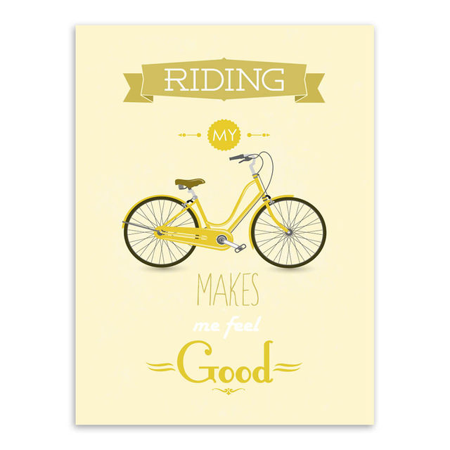 Online Shop Modern Inspirational Bike Bicycle Quotes Typography ...
