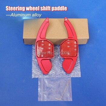 2 pcs Alumínio Mudança Volante Paddle Extensão Shifter Para Audi S3 S5 S6 S7 S8 SQ5 RS3 RS6 R8 TTS