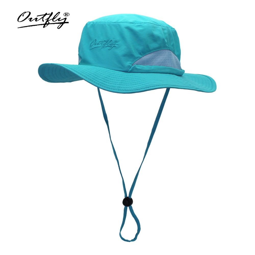 2019 New Outdoor 선 스크린 어부의 모자 Summer Bucket Cap Men 및 Women UV hat