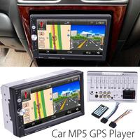 Vehemo 7 Inch 1024*600 2 DIN Bluetooth HD Car Stereo Audio MP5 Player Card Reader FM Radio Fast Charge Support USB/AUX / DVR