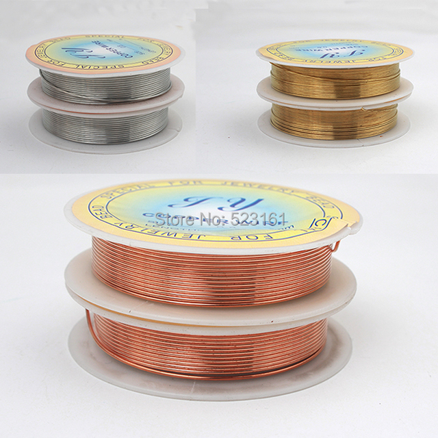 2pcs 20 gauge 08mm jewelry copper wire gold silver red black 2pcs 20 gauge 08mm jewelry copper wire gold silver red black colored 3yd2 greentooth Images