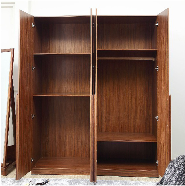 Buena camaradas de madera maciza sencilla cuatro dormitorios puerta ...