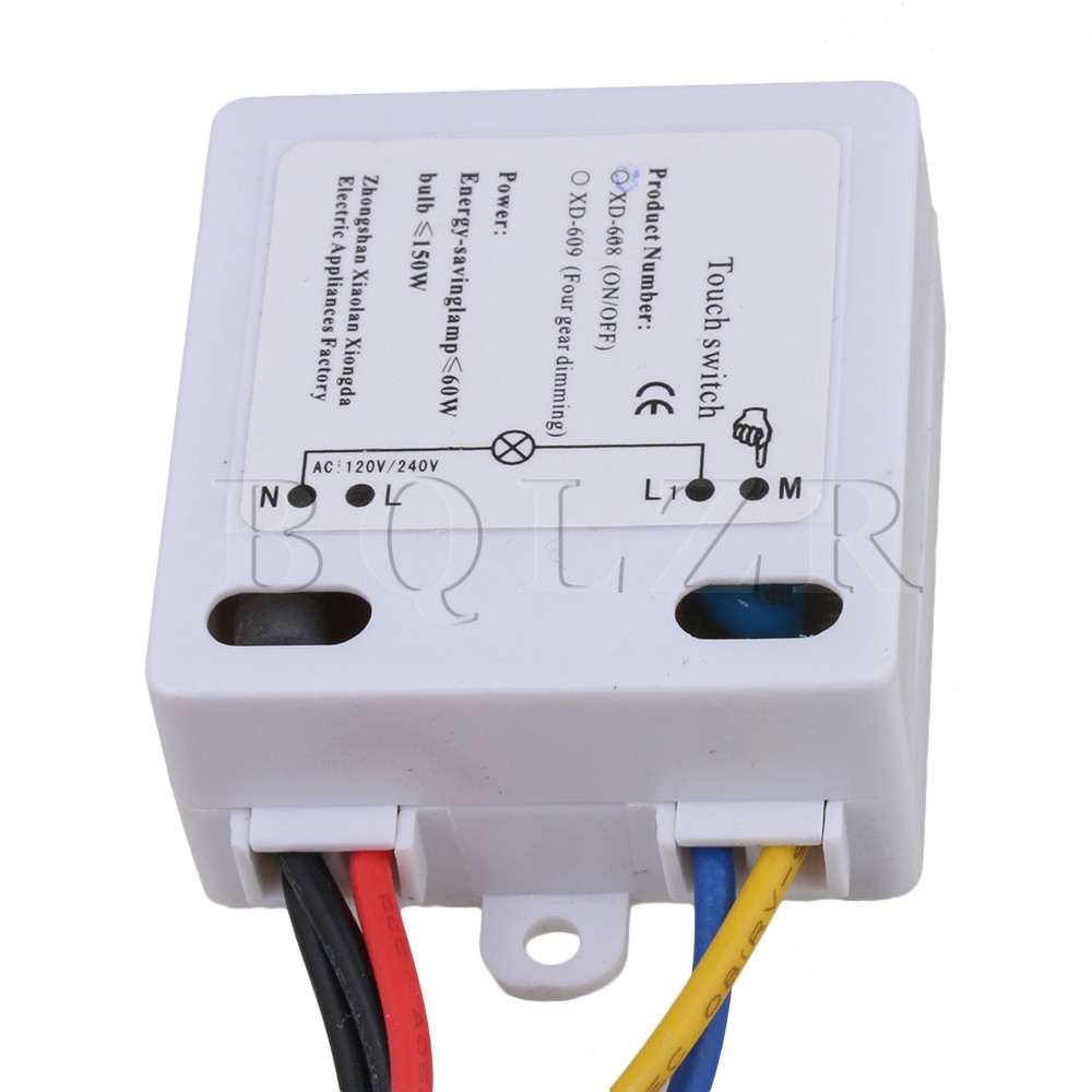 10 X Bqlzr Xd 608 On Off Touch Switch With Surge Absorber 6 12v Dc Circuit For Led Lamp In Switches From Lights Lighting Alibaba Group