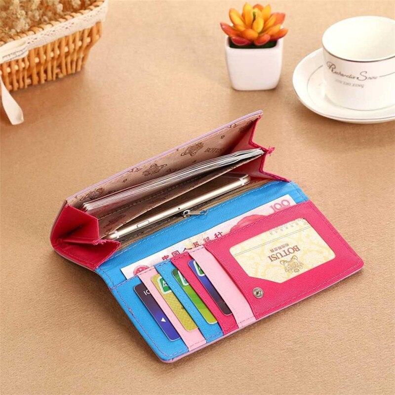 Valink 2017 Fashion Women Wallet Bolsa Feminina Hasp Coin Purse Long Wallet Card Holders Handbag Wallet Women Carteira Feminina 3