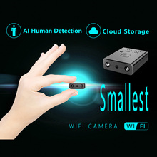 HD 1080P Mini Camcorder WIFI Smallest Camera Micro Infrared Night Vision Cam camera Motion Detection Video recorder